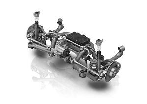 ZF modular rear axle system