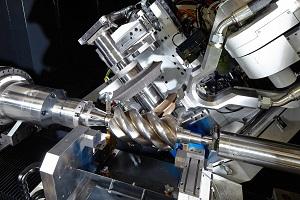 Zenith 400 helical profile grinder