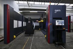 ATOS ScanBox 7260 optical 3D coordinate measuring machine for large parts