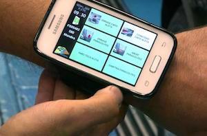 Smartphone app, Ford Valencia
