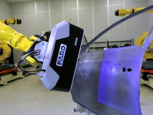 Cobalt on robot Scanning Door