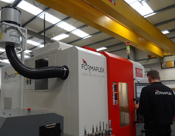 Centrifugal oil mist collectors provide efficient extraction across the variety of machining centres