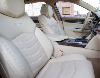 Cadillac CT6 seats by Faurecia, a major supplier across all global region
