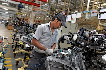 Production capacity has been increased at Renault-Nissan's Oragadam plant to cope with demand for the Renault Kwid