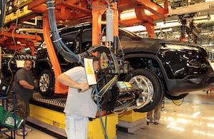 Jeep Cherokee, FCA Toledo