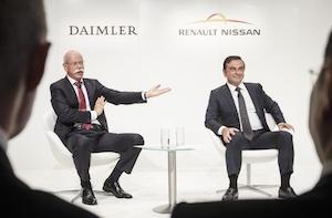 Daimler and Renault-Nissan