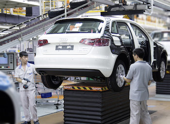 Audi is reportedly considering expanding its Foshan plant, widening of the range of its Chinese-made models