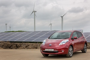 Solar farm at Nissan Sunderland