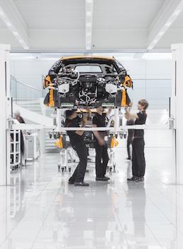 Apprenticeships, McLaren Automotive