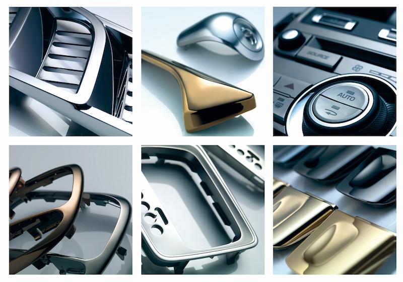 Plastics metallisation, Oerlikon Balzers
