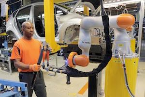 Ford Cologne collaborative robots