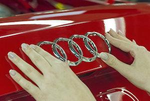 Four rings, Audi