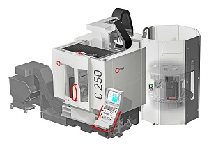 Hermle C 250 machine