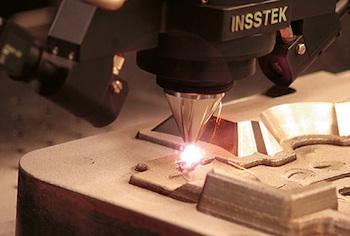 InssTek engine cylinder head mould during processingWEB