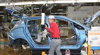 Nissan Oppama leaf EV