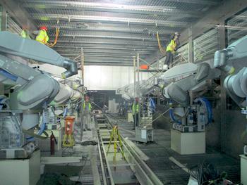 PIC 3 Robotermontage