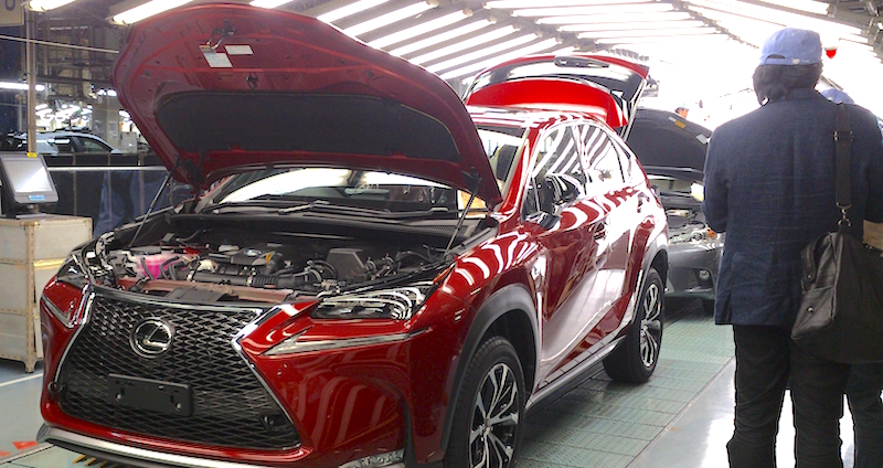Premium production - Lexus NX production Kyushu