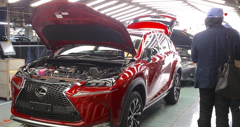 Premium production - Lexus NX production Kyushu