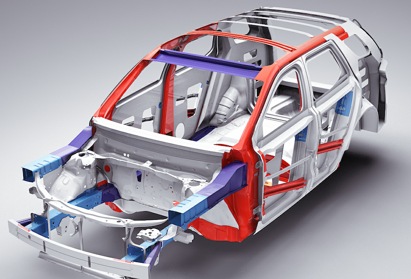 S-in motion lightweighting potential of steel in mid-size sedans and SUVs