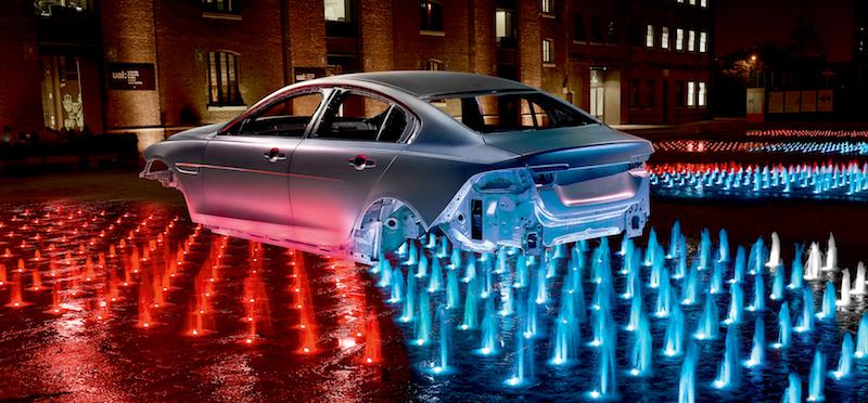 Aluminium Jaguar XE