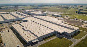 VW plant at Wrzesnia