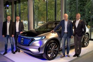 Mercedes-Benz plant Bremen to produce the first series model of the new generation of electric cars
