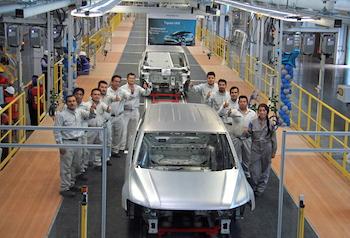 Tiguan test BIW, VW Puebla