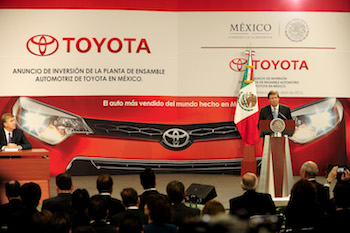 James Lentz, Toyota