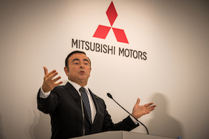 Carlos Ghosn, Mitsubishi