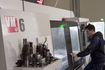 Chiaro Macchine Speciali has recently installed a Haas VM-6