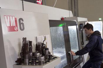 Chiaro Macchine Speciali ha instalado recientemente un Haas VM-6