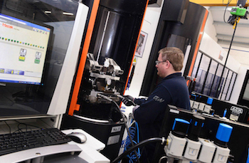 The FMS at GW forms part of a recently opened £5m, 33,000 sq.ft, temperature-controlled machining facility