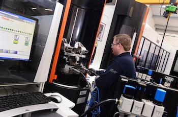 El FMS de GW forma parte de una nueva instalación de 5 millones de libras y 3,000 metros cuadrados para el mecanizado a temperatura controlada