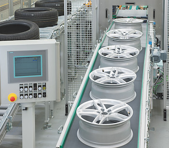 Schenck RoTec's new wheel-tyre assembly line covers all combinations