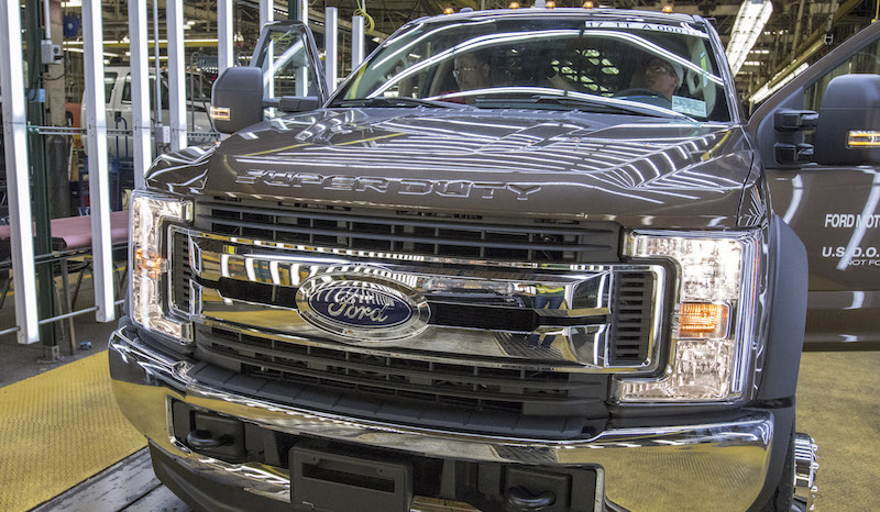 Ford announces a $200 million investment in Ohio Assembly plant to build Super Duty chassis cabs.