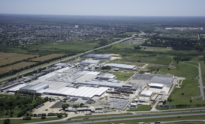 Major expansion at Toyota's Zarate factory near Buenos Aires, which makes the Hilux pickup and SW4 SUV, has taken capacity to 140,000