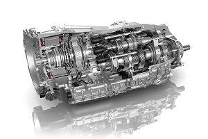 ZF 8-speed dual clutch transmission (8DT)