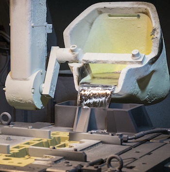 A major firm in aluminium block and head castings, Nemak supplies JLR from a foundry in the Czech Republic