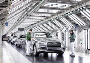 Q7, Audi Bratislava