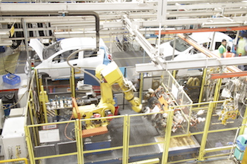 GM has concentrated all its Indian production at the Talegaon plant
