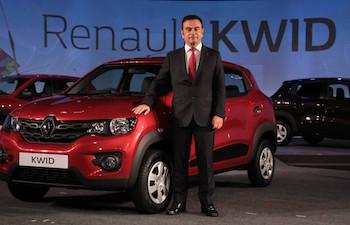 Renault Kwid w Ghosn