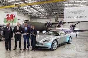 St Athan, Aston Martin