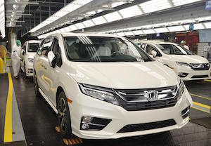 Honda Odyssey, HMA