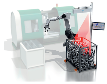 The PLB system was developed by SICK for precise position detection of components in totes and boxes