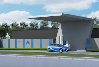 Hydrogen station, Toyota Changshu