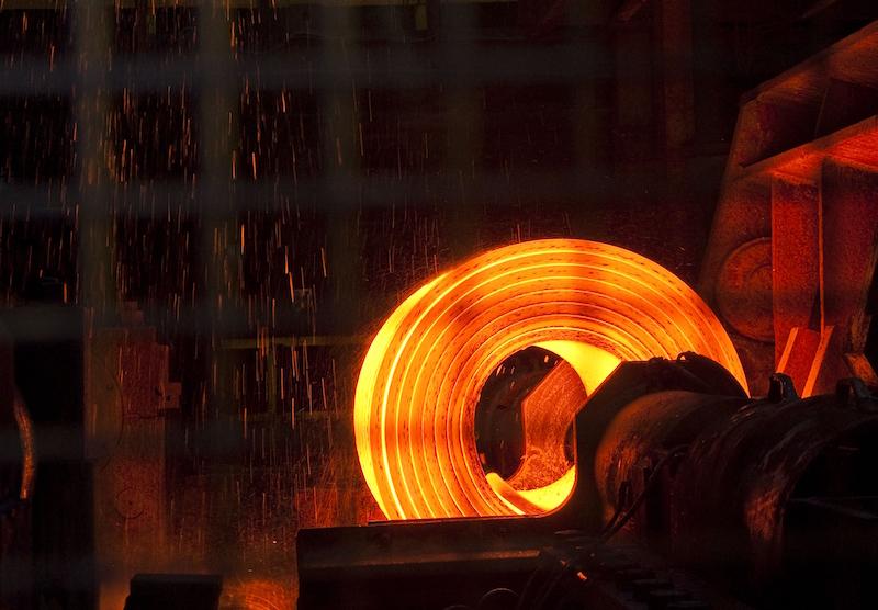 Steel coil, Tata Port Talbot