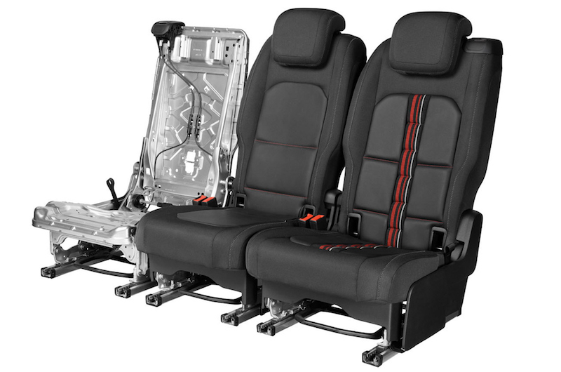 Rear Seat multi functional structure (EP2)