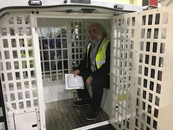 Ian Henry banged up in Luton