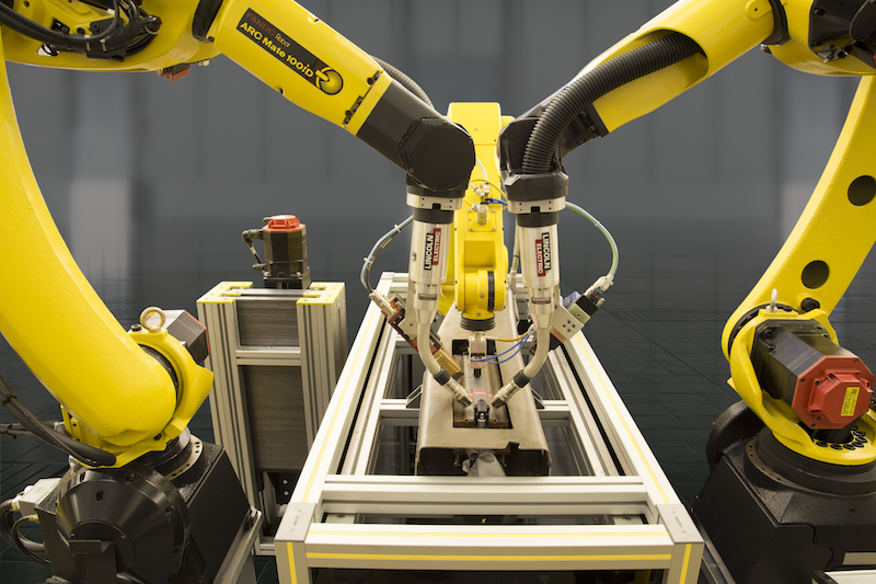 FANUC Dual-arc-welding-laser guided