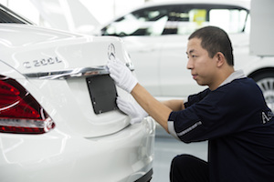 C-Class at Beijing Benz Automotive (BBAC) in China